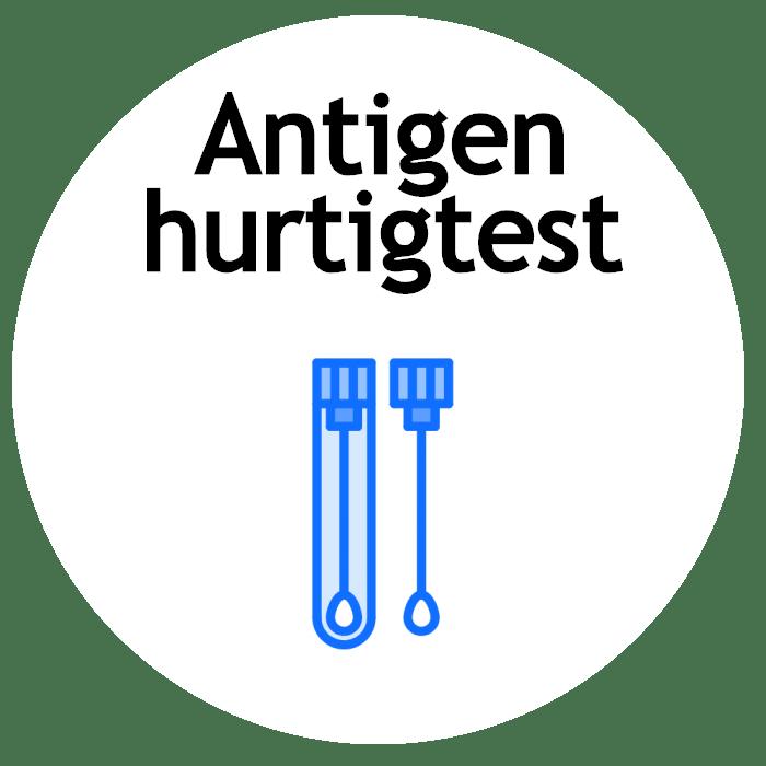 Antigen hurtigtest